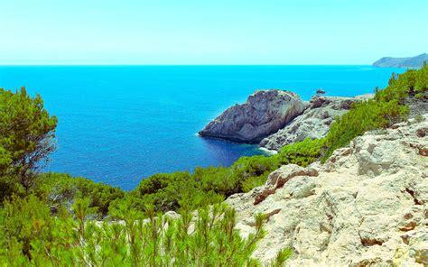 spanish nature of photographs 0714865702 spain coast capdepera nature wallpaper wallpapers new hd wallpapers