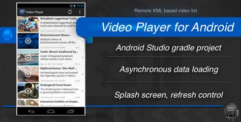android studio xml parser tutorial video player for android traclaborat