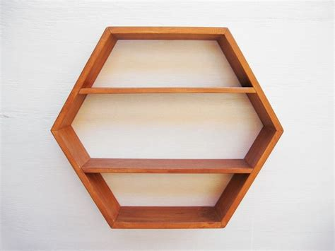hexagon shelves on etsy shelves display