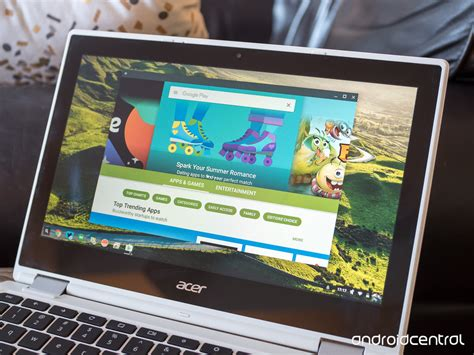chromebook android apps impressions android apps on the acer chromebook r11 android central