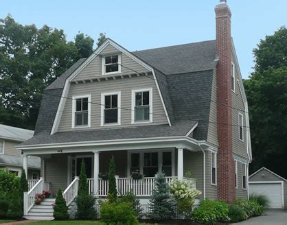 2 Bedroom House Plans For a Simple Home With a Gambrel Roof