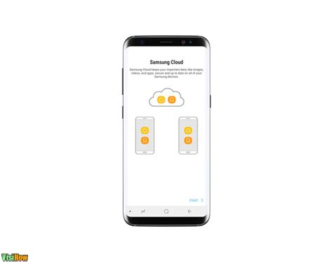 my samsung cloud backup and restore samsung galaxy s8 visihow