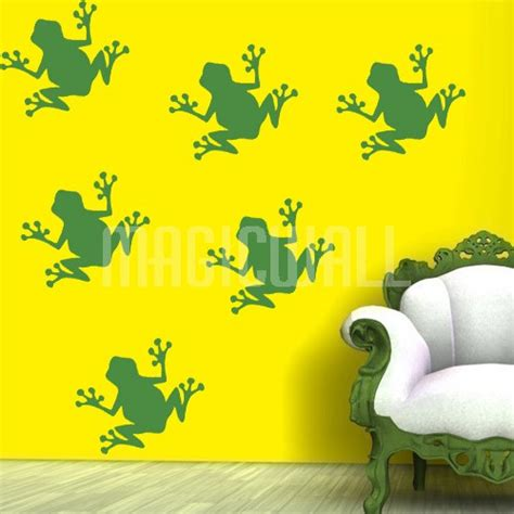 frog wall stickers wall decals frogs wall stickers