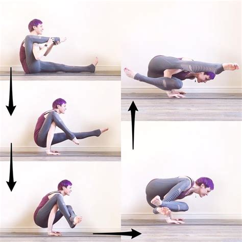yoga arm balance tutorial 104 best yoga arm balance images on pinterest yoga