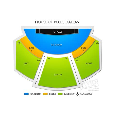 house of blues dallas tx seating chart house of blues dallas tickets house of blues dallas