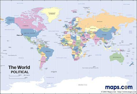 map   world countriesat