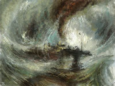 snow storm steam boat off a harbour s mouth quot snow storm steam boat off a harbour s mouth quot joseph