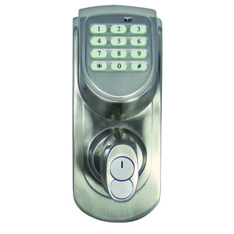 electronic design house design house electronic satin nickel keypad deadbolt