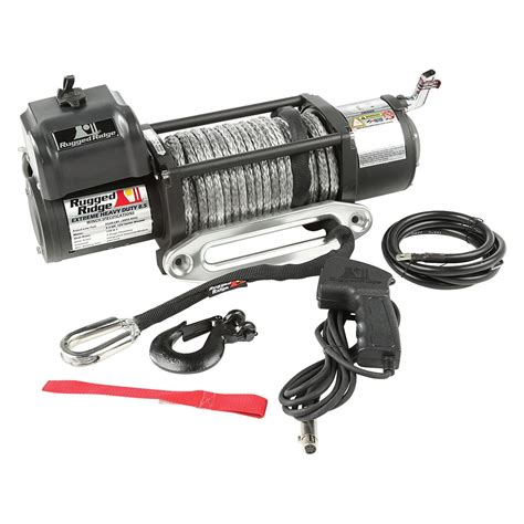 Rugged Ridge Winch Review by Rugged Ridge 174 15100 31 Spartacus Performance 8500 Lbs