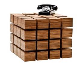 wooden design table floating wood cubix ideas design strange table