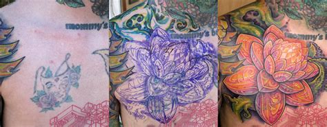 lotus tattoo guy lotus cover up by guy aitchison tattoonow