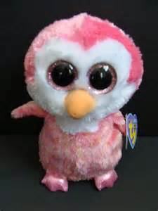 nwt ty beanie boos 6 quot chillz pink penguin plush baby boo exclusive 2013 beanie boos
