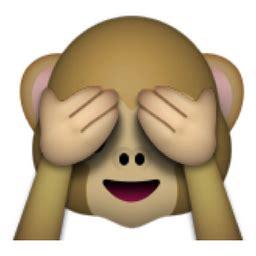 Keyboard Flower Symbol - see no evil monkey emoji u 1f648