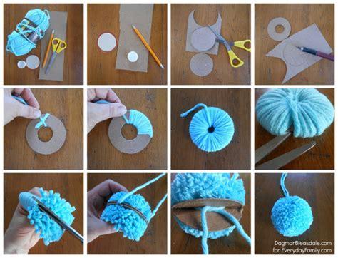 How To Make A Paper Pompom - a charming diy garland