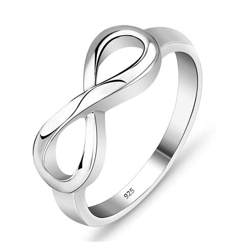 ring infinity symbol infinity symbol sterling silver ring