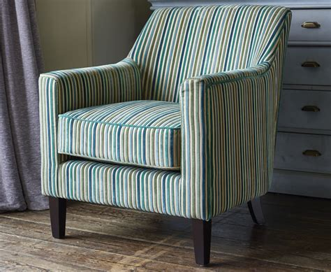 striped fabric armchairs golding teal striped fabric arm chair