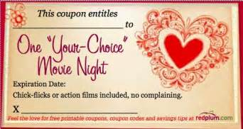 iou coupons iou coupons for valentines ideas