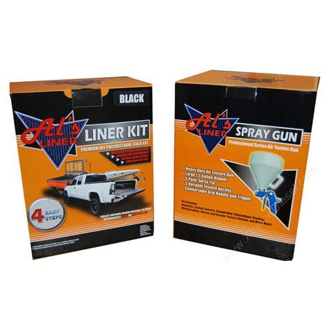 Truck Bed Liner Kit by Al S Liner Diy Truck Bed Liner Kit