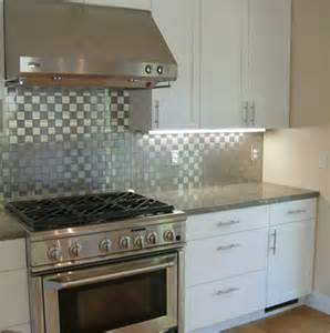 Kitchen Backsplash Stainless Steel Tiles by Subway Tile Kitchen Backsplash Ideas Design Bookmark 19331