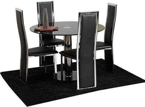 Black Dining Room Chairs Set Of 4 Dining Room Astounding Dining Room Chair Set Of 4 Set Of 4 Dining Chairs Ebay 4 Kitchen Chairs