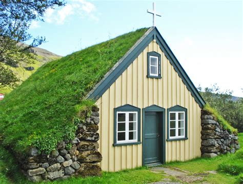 Hobbit Home Interior 19th Century Green Roofed Icelandic Church Is Straight Out
