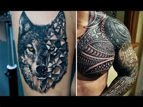 30 mens best tattoos of all time youtube