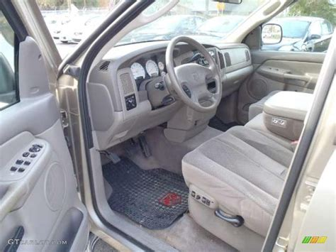 2003 Dodge Ram Interior by Taupe Interior 2003 Dodge Ram 1500 St Cab Photo