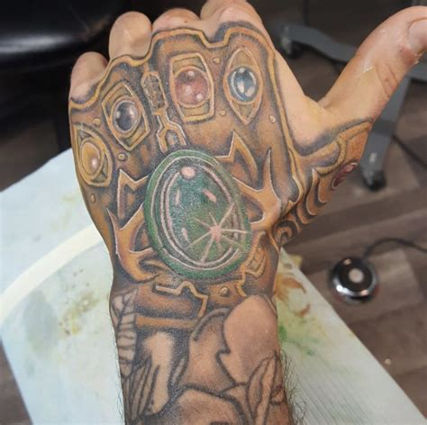 infinity gauntlet tattoo pictures to pin on pinterest