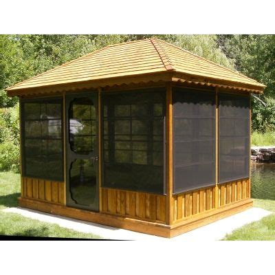 screen gazebo the 25 best screened gazebo ideas on screened