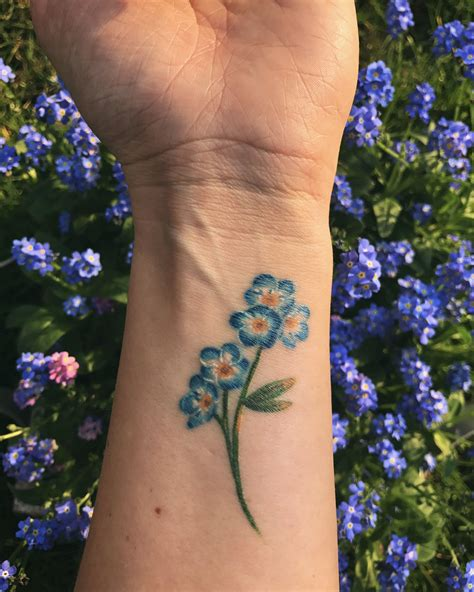 forget me not flower tattoo designs forget me not alaska state flower tattoos