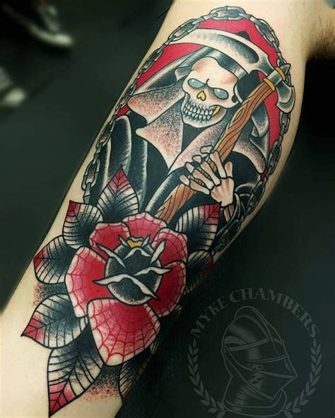 grim reaper traditional tattoo 332 best images about 2 on traditional