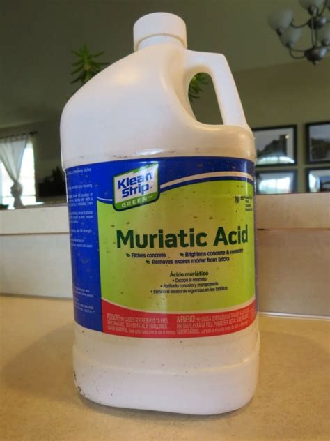 how to use muriatic acid to clean bathroom use muriatic acid for tough concrete offenders modernize