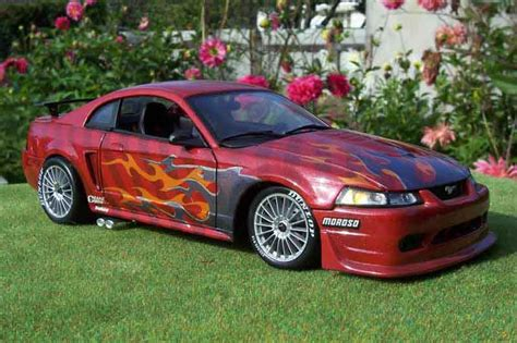 Cobra 6 Rotes Auto by Ford Mustang 2000 Svt Cobra Fire Snake Ut Models