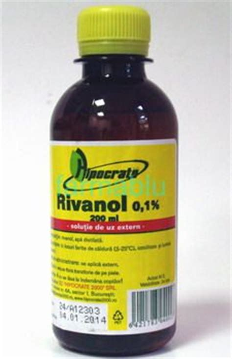 Rivanol 0 1 New 200ml rivanol 0 1 x 200ml cumpara