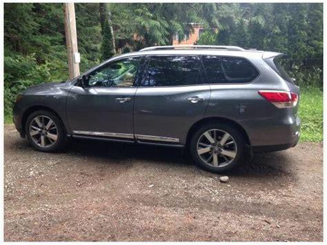 2015 nissan pathfinder platinum 7 seater suv comox comox