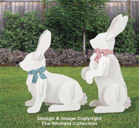 animal project patterns large yard rabbits pattern