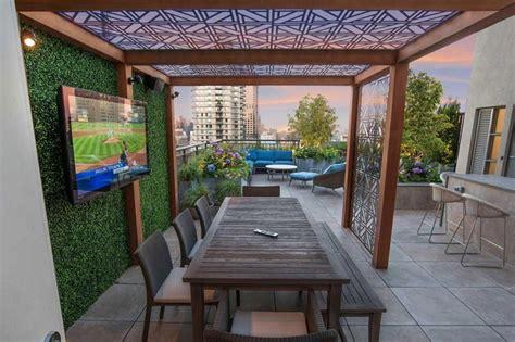 coprire un terrazzo come arredare un terrazzo con alcuni piccoli accorgimenti