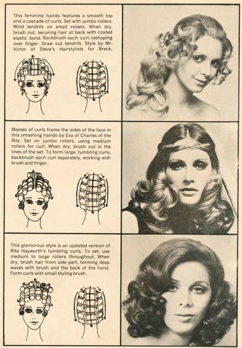 Pattern For Roller Set | 1000 ideas about roller curls on pinterest hot roller