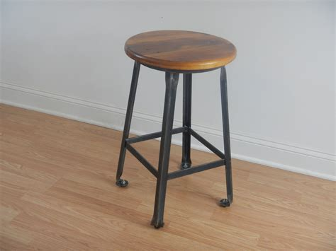 industrial style metal bar stools industrial style movable counter stool with black metal