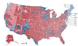 2012 us election map by county
