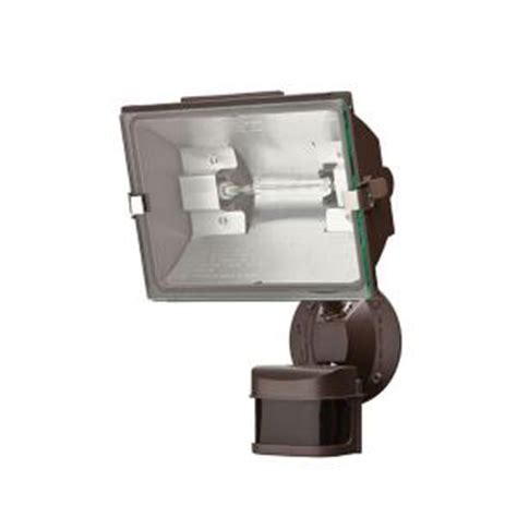 Defiant Lighting by Defiant 270 Degree Outdoor Bronze Motion Security Light Df