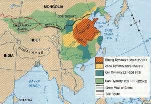 Ancient China Map by Ancientchina Htm