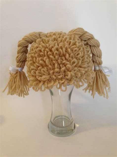 crochet inspired cabbage patch hat with video cabbage patch inspired crochet hat pattern