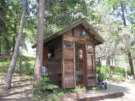 Reclaimed Wood Shed by 301 Moved Permanently