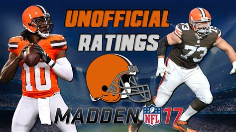 madden ultimate team 17 card template top 5 cleveland browns in mut 17 madden 17 ultimate