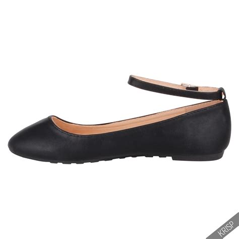 Bootssneakersketsheelswedgesflatsuplier Pp01 Balerina Flat Shoes ankle fashion ballerina flats pumps school ballet casual shoes ebay