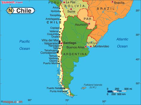 Chile On World Map by Pics Photos Chile Map About Chile