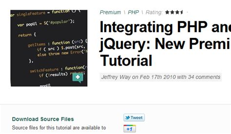 jquery tutorial questions 22 articles and tutorials for getting started with jquery