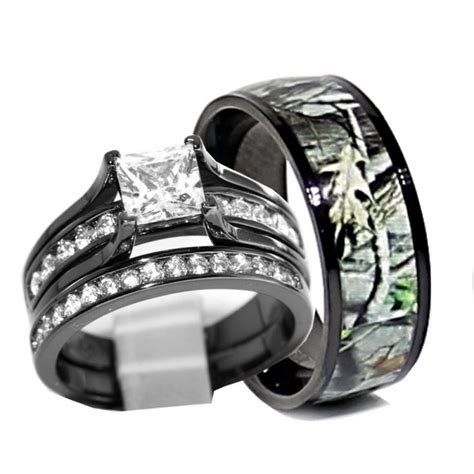 cheap camo wedding rings ipunya