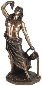 dionysus god statue divine madness the nemeton
